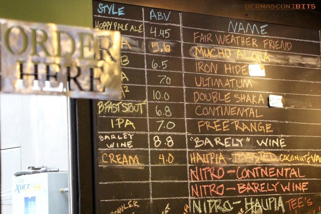 Beer List - Butcher's Brewing
