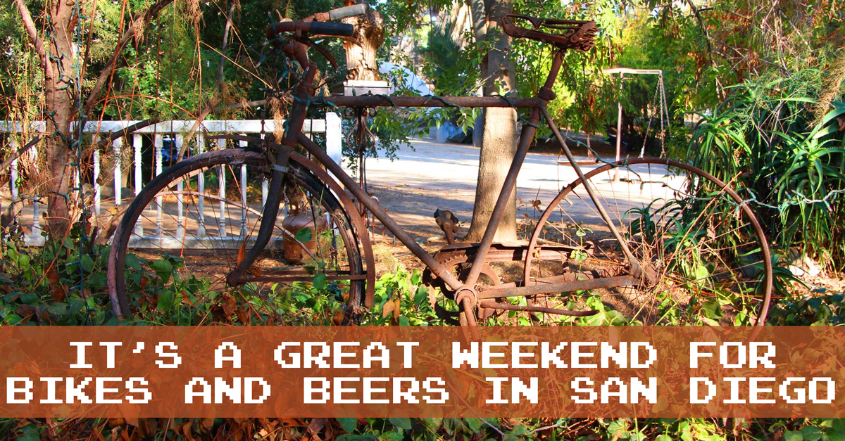 It's a Great Weekend for Bikes and Beers in San Diego