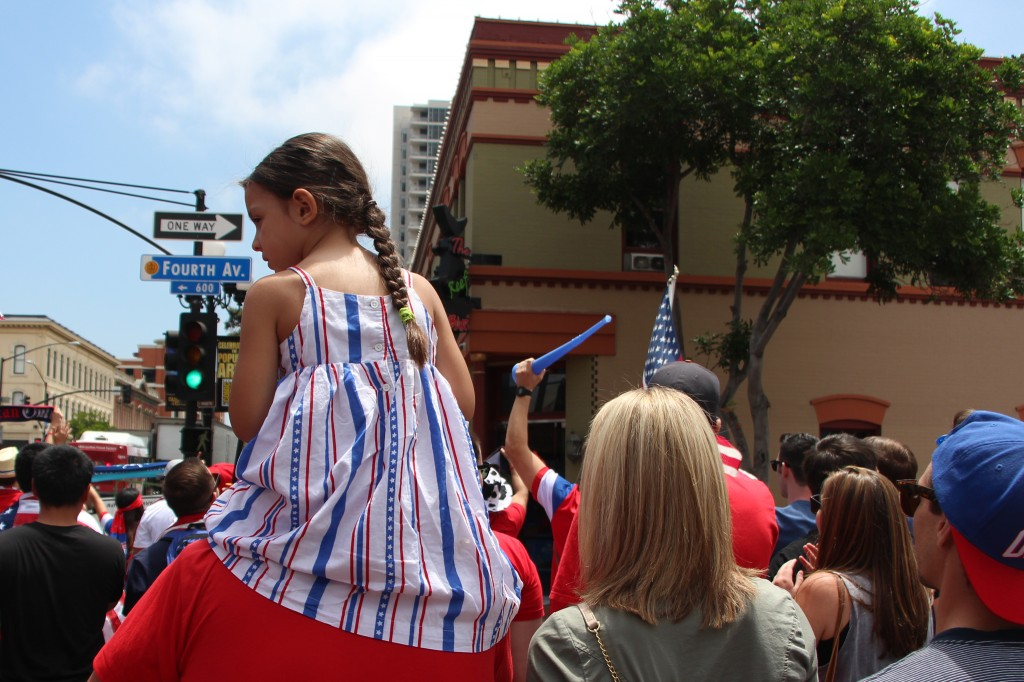 Fans of All Ages - American Outlaws San Diego March to the Match