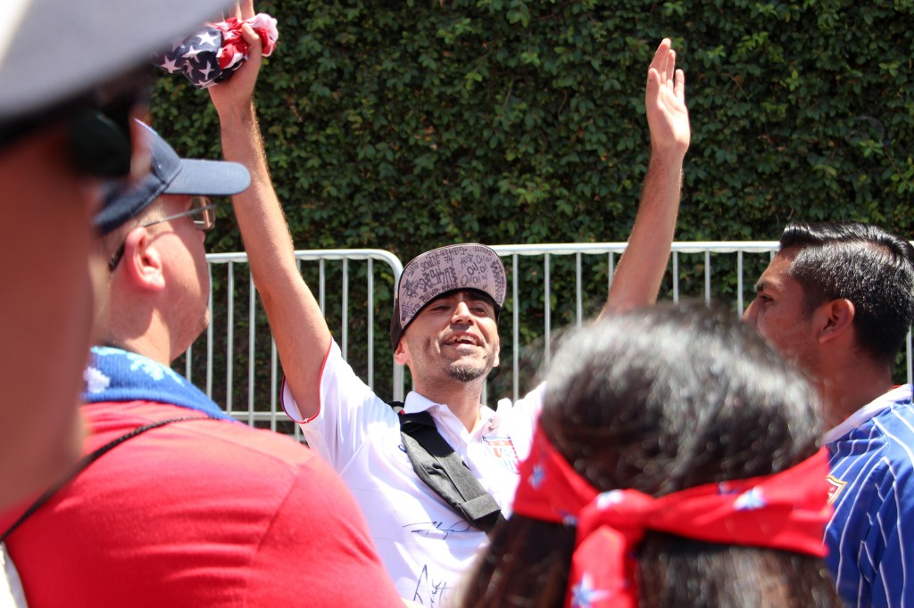 Cheer Leader - American Outlaws San Diego March to the Match