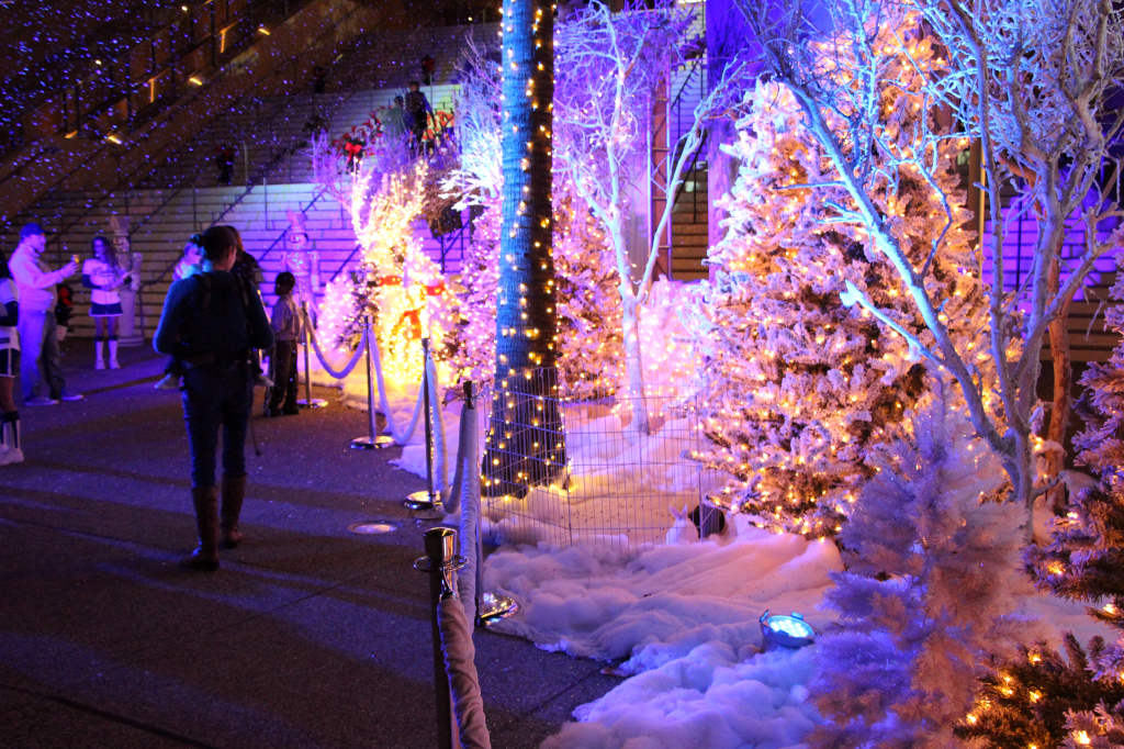 Walking Through a Winter Wonderland - Holiday Wonderland at Petco Park