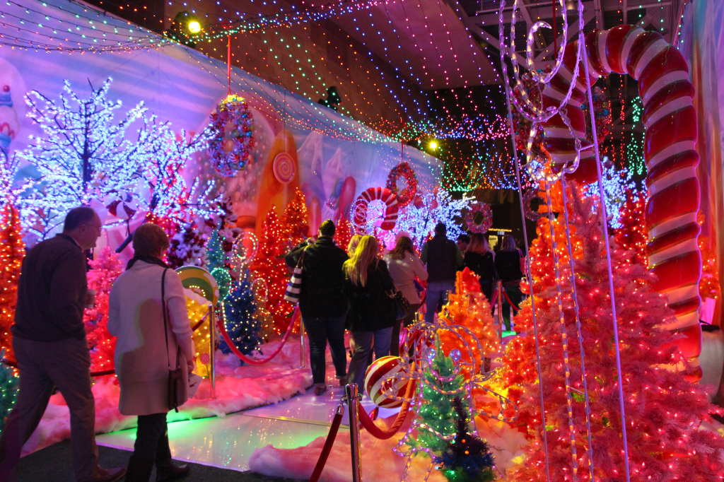 Candyland - Holiday Wonderland at Petco Park