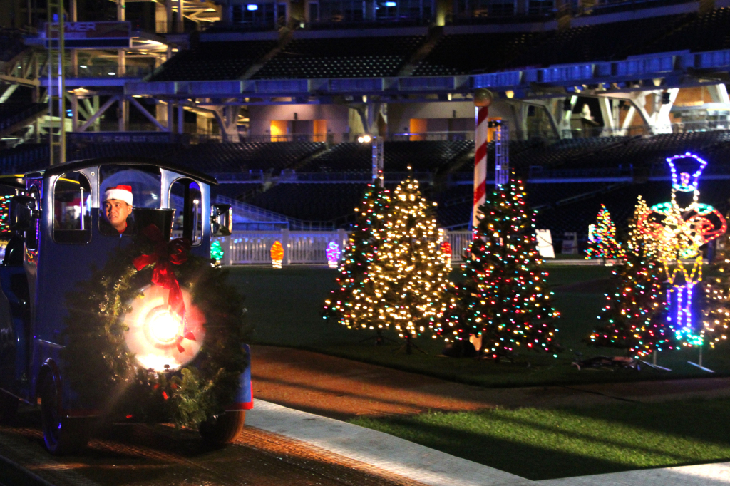 Polar Express - Holiday Wonderland at Petco Park