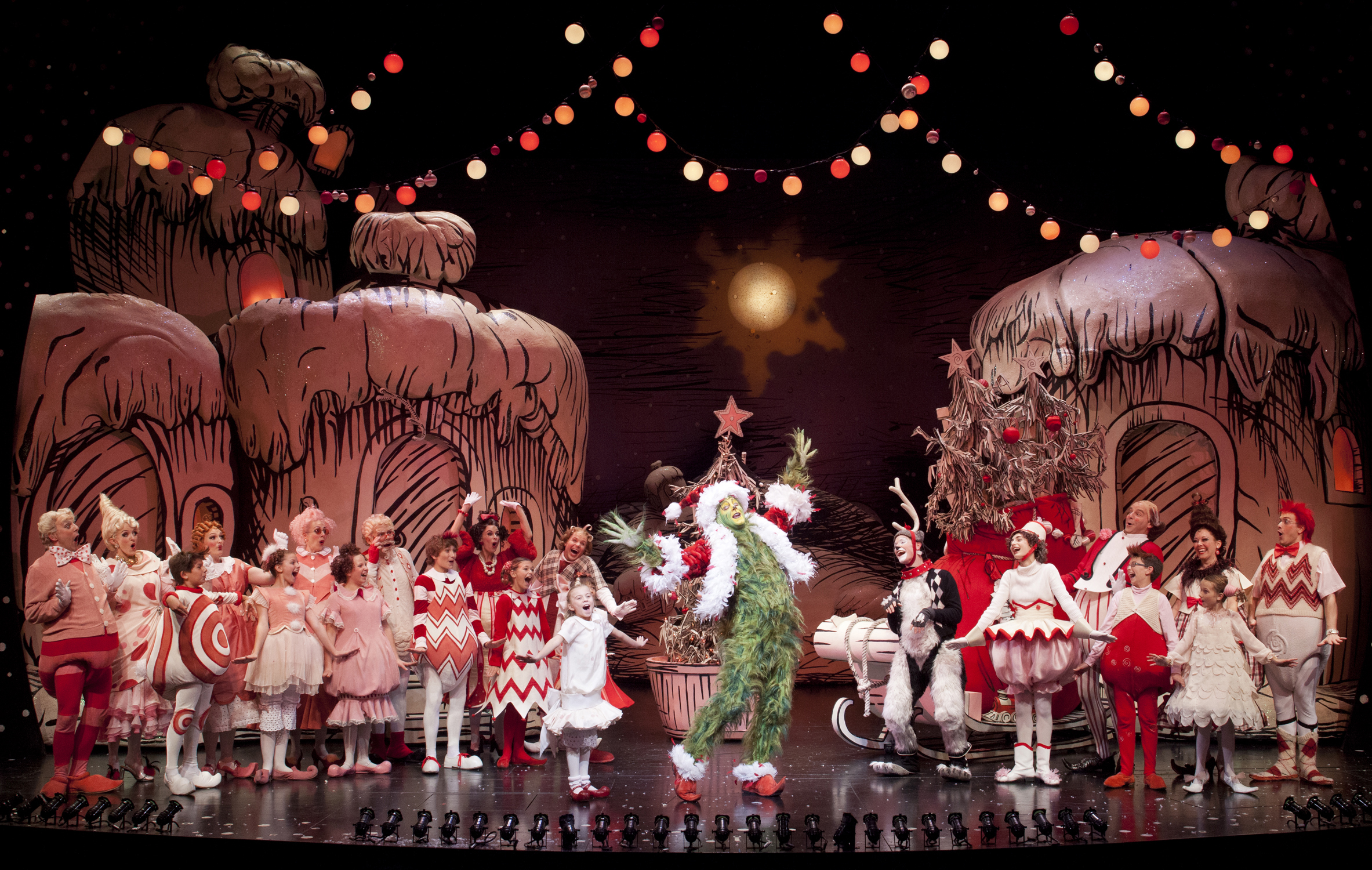 Dr. Suess' The Grinch Who Stole Christmas - Courtesy of The Old Globe
