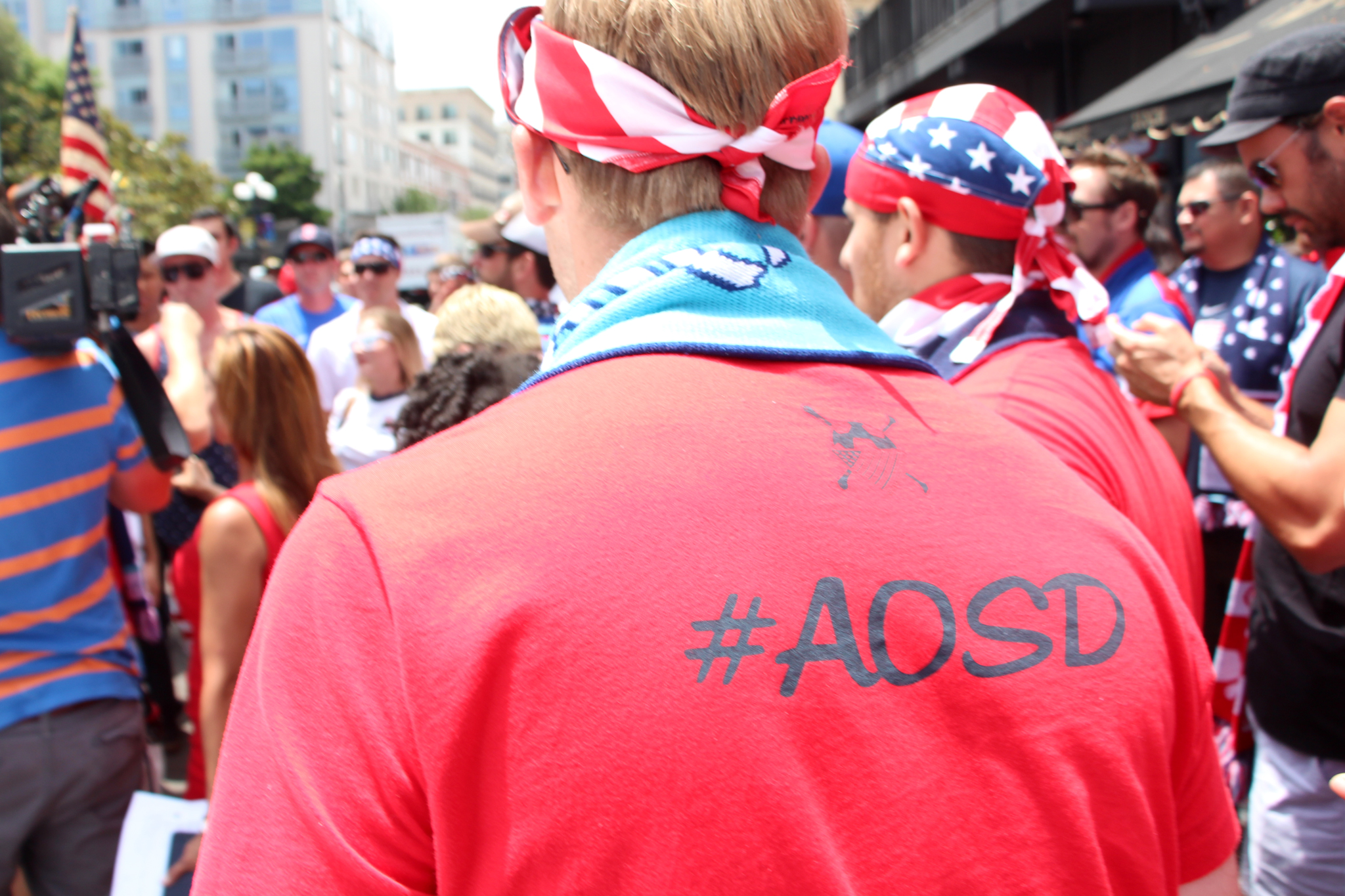 #AOSD - American Outlaws San Diego March to the Match